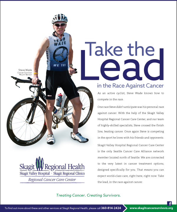 Skagit Regional Health Take the Lead in the Race Against Cancer Advertising Campaign