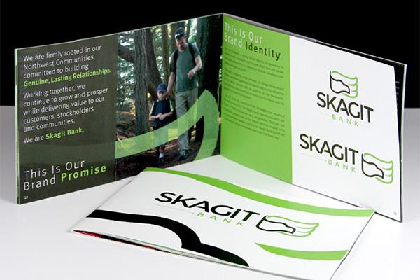 Skagit Bank Brand Identity Book