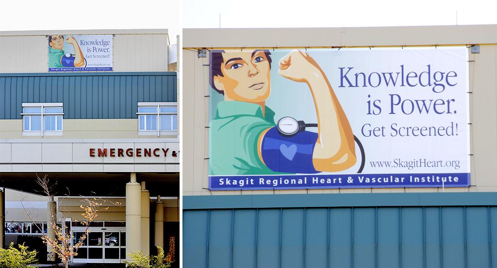 Skagit Regional Health Exterior Banners