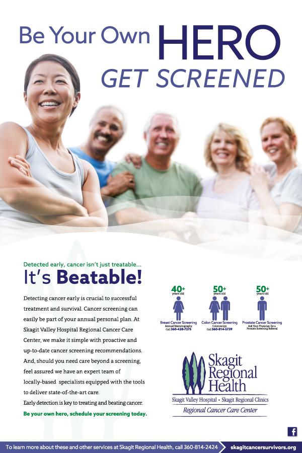 Skagit Regional Health Breast Cancer Screening Campaign