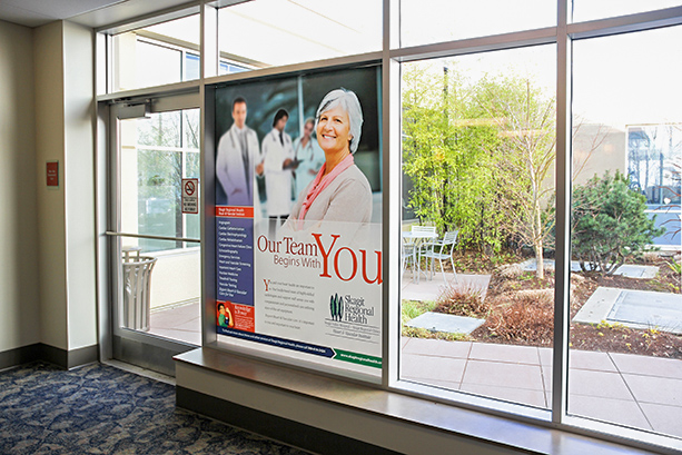 Skagit Regional Health Window Clings