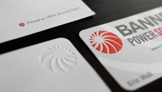 Banner Power Solutions Business Cards