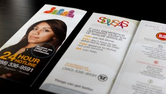 Skagit Domestic Violence and Sexual Assault Services Brochure (in English and Spanish)