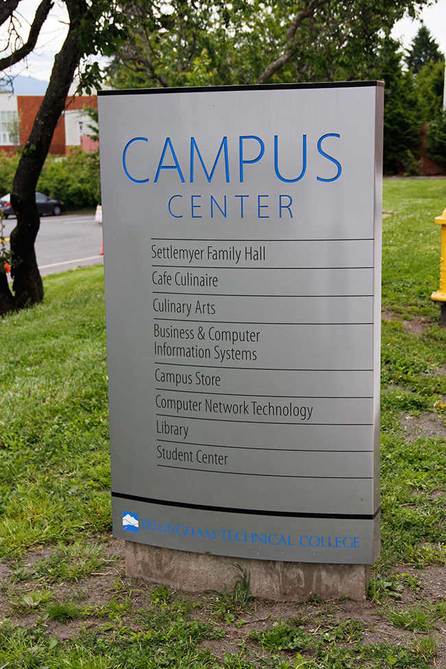Bellingham Technical College Environmental Signage