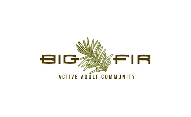 Landed Gentry Big Fir Active Adult Community Logo