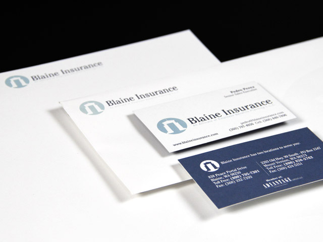 Blaine Insurance Business Papers