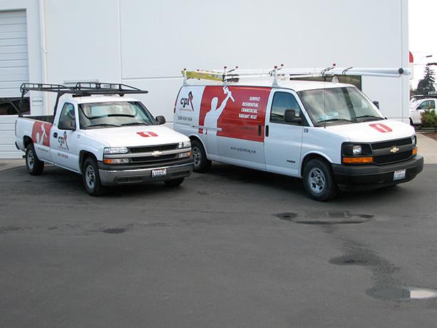 CPI Plumbing & Heating Vehicle Wraps