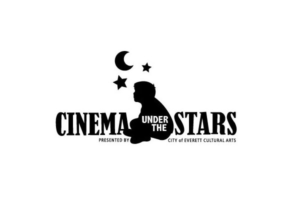 City of Everett Cinema Under the Stars Logo