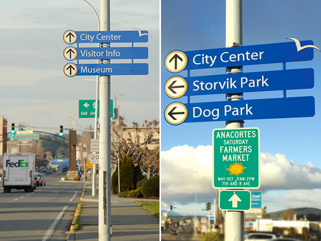 City of Anacortes Wayfinding