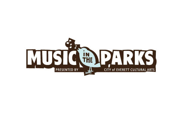 City of Everett Music in the Parks Logo