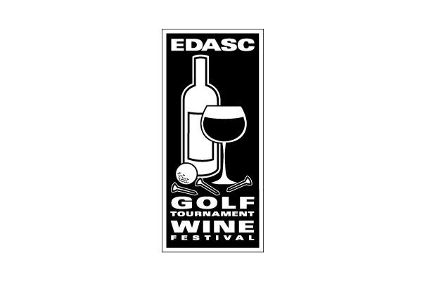 EDASC Golf Tournament & Wine Festival Logo