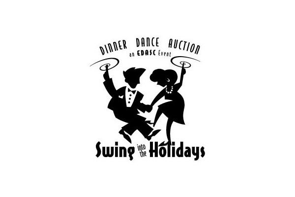 EDASC Swing Into the Holidays Logo