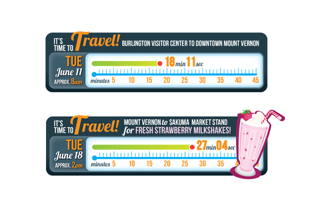 Visit Skagit Valley Campaign Infographics