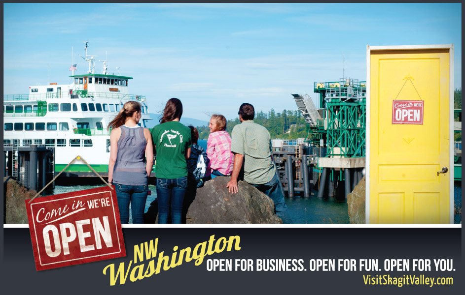 Visit Skagit Valley Campaign - Ferry Trips