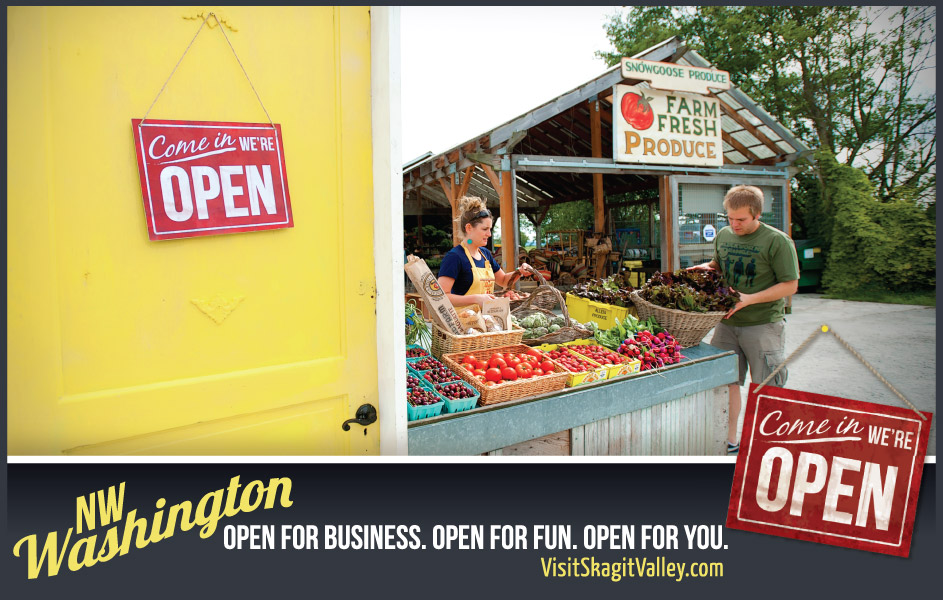 Visit Skagit Valley Campaign - Farmers Markets