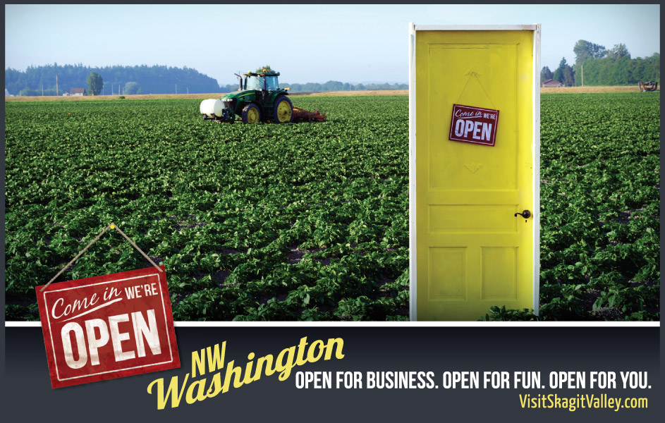 Visit Skagit Valley Campaign - Local Farms