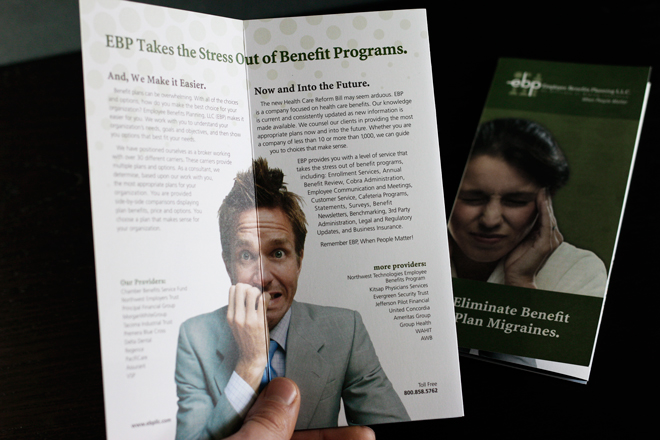 Employee Benefits Planning Printed Brochures