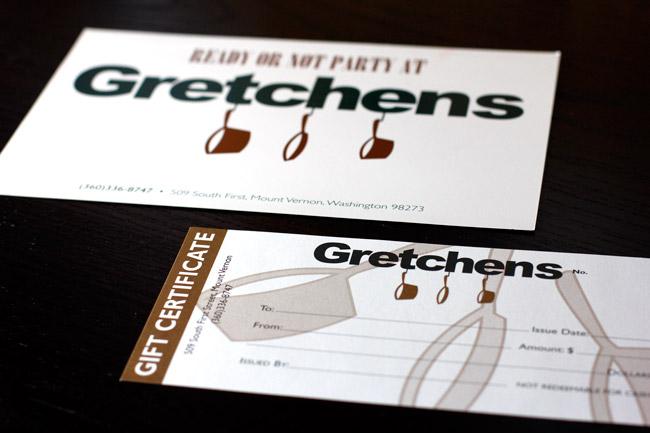 Gretchen's Gift Certificate