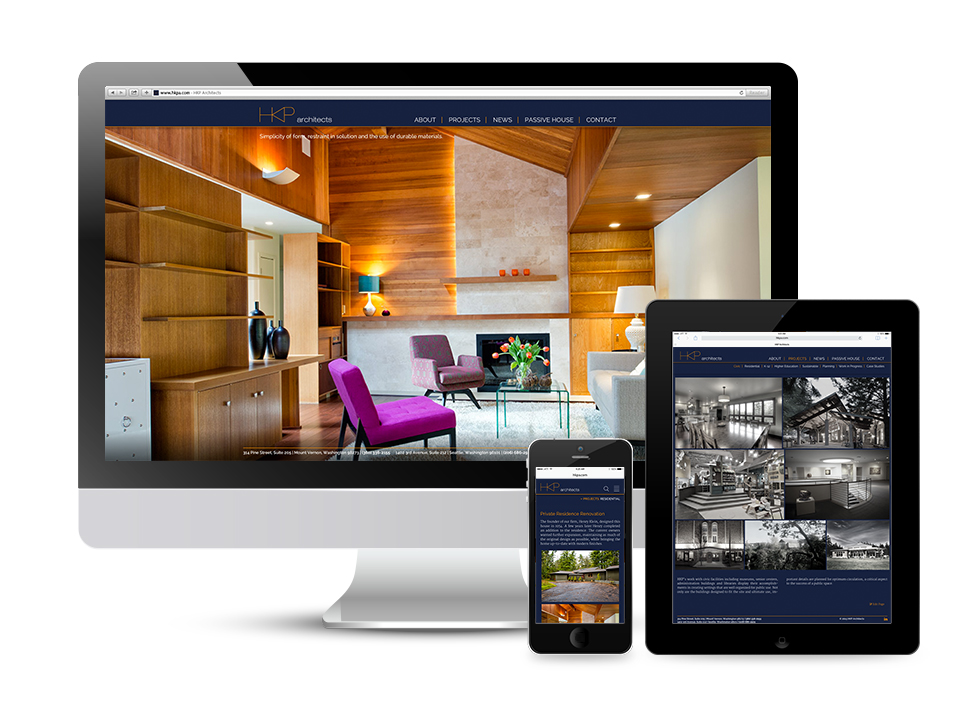 HKP Architects Responsive Website