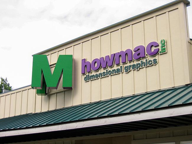 Howmac, Inc. Dimensional Signage