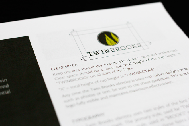 Landed Gentry TwinBrooks Logo Standards Guide