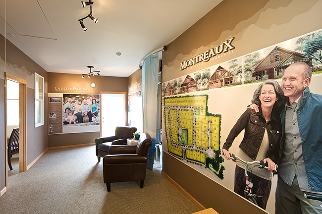 Landed Gentry Montreaux Interior Graphics and Signage