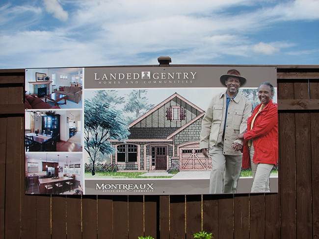 Landed Gentry Montreaux Exterior Signage