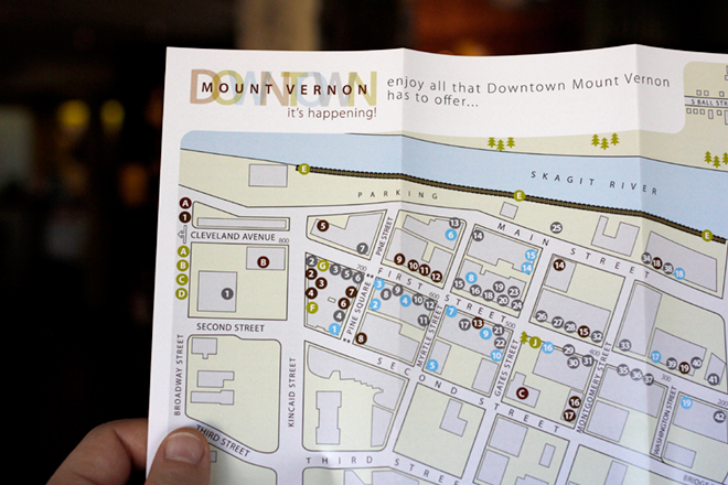 Mount Vernon Downtown Association Map