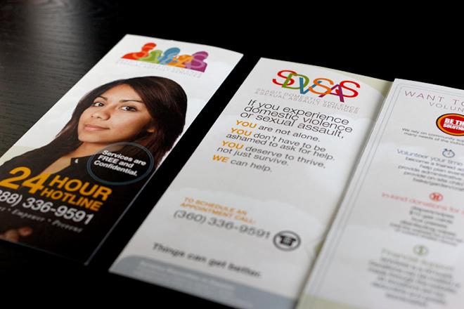 Skagit Domestic Violence & Sexual Assault Services Brochure