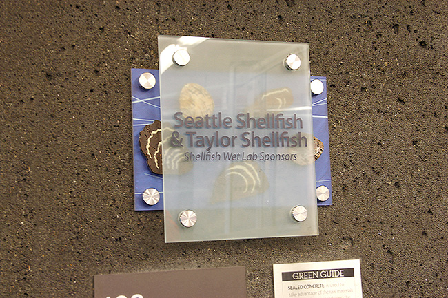 Seattle Shellfish and Taylor Shellfish - Shellfish Wet Lab Sponsors