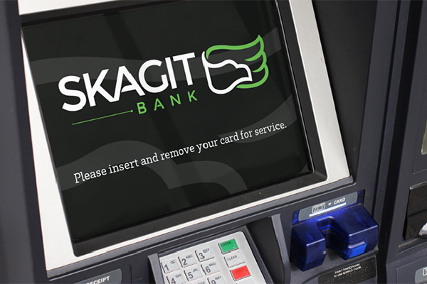 Skagit Bank ATM Screen