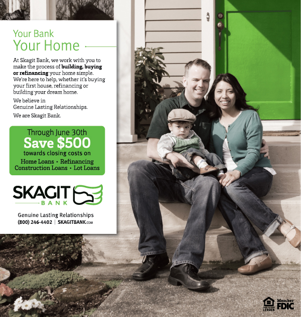Skagit Bank Home Loans Campaign Ad