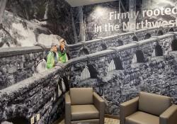 Skagit Bank Interior Wall