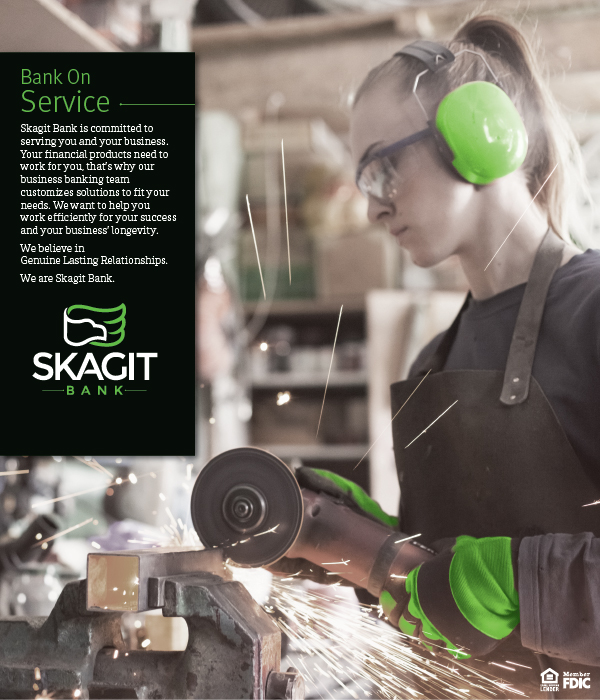 Skagit Bank - Bank on Service Campaign Ad