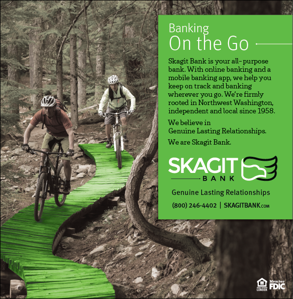 Skagit Bank - Banking on the Go Campaign Ad