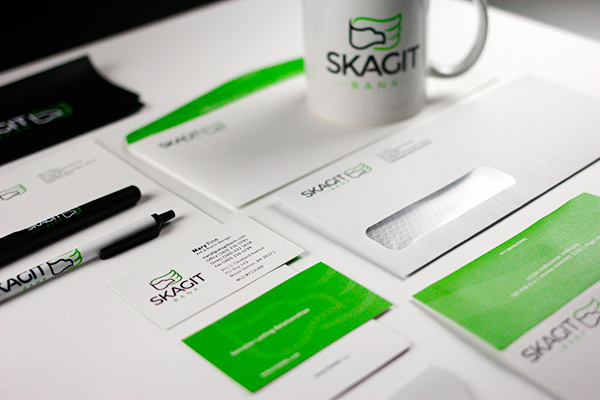 Skagit Bank Identity Package and Promotional Material