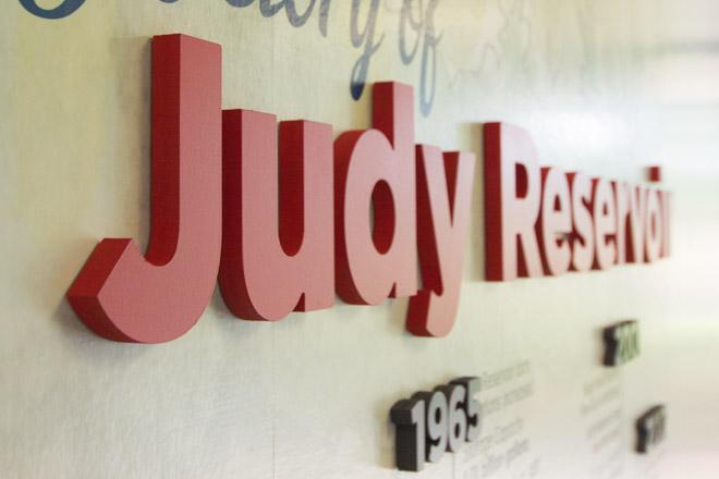 Skagit PUD Judy Reservoir Dimensional Lettering
