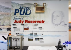 Skagit PUD Judy Reservoir Educational And Interpretive Exhibit