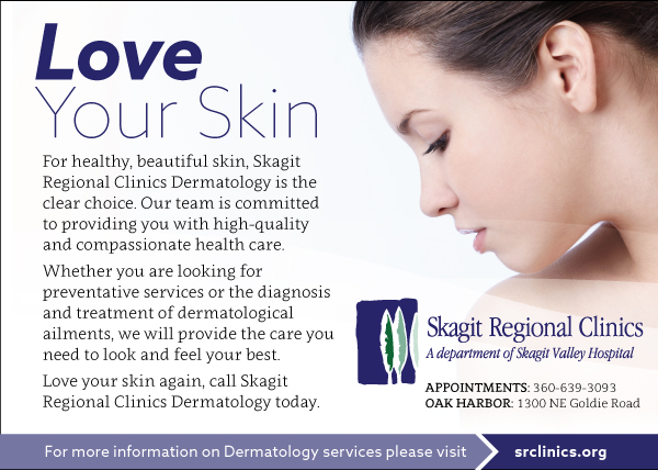 Skagit Regional Clinics Dermatology Advertising Campaign