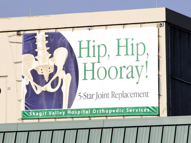 Skagit Valley Hospital Banner