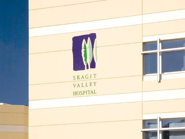 Skagit Valley Hospital Building Signage