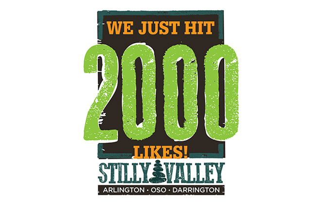 Visit Stilly Valley Campaign Social Media Reached 2000 Likes on Facebook