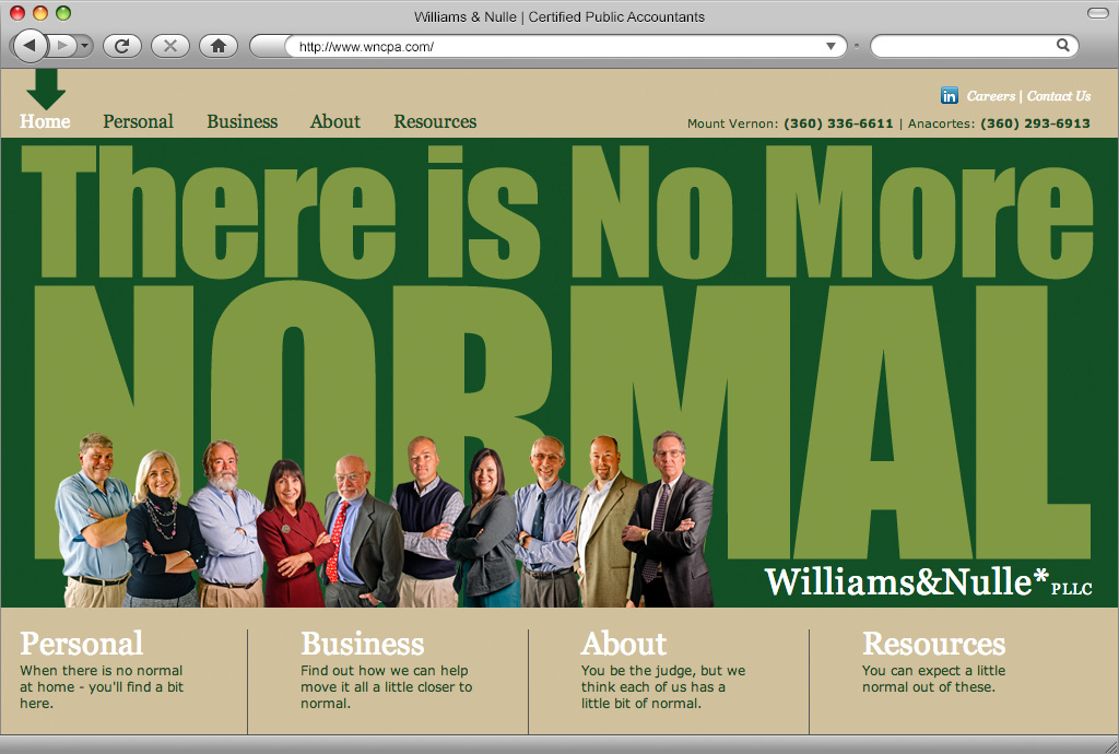 Williams & Nulle Website