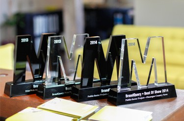 BrandQuery's 4 BIG M Awards from The Marketing Awards