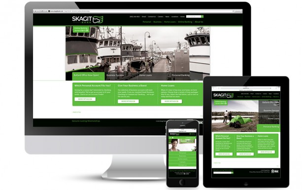 Skagit Bank Responsive Website